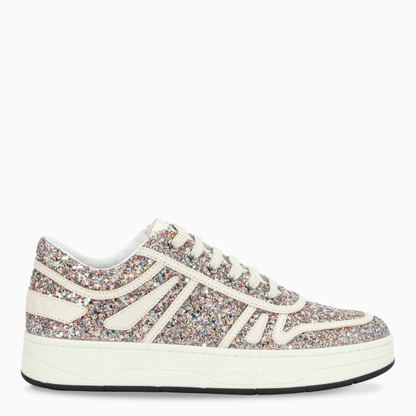 Jimmy Choo Hawaii F sneakers with glitter