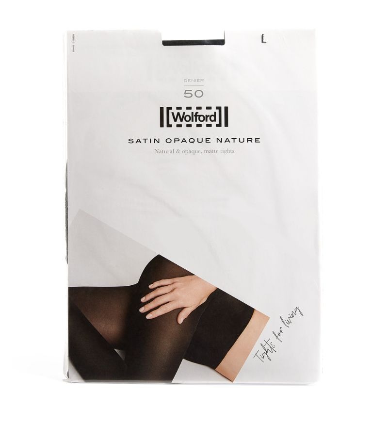 Wolford Satin Opaque Nature 50 Tights