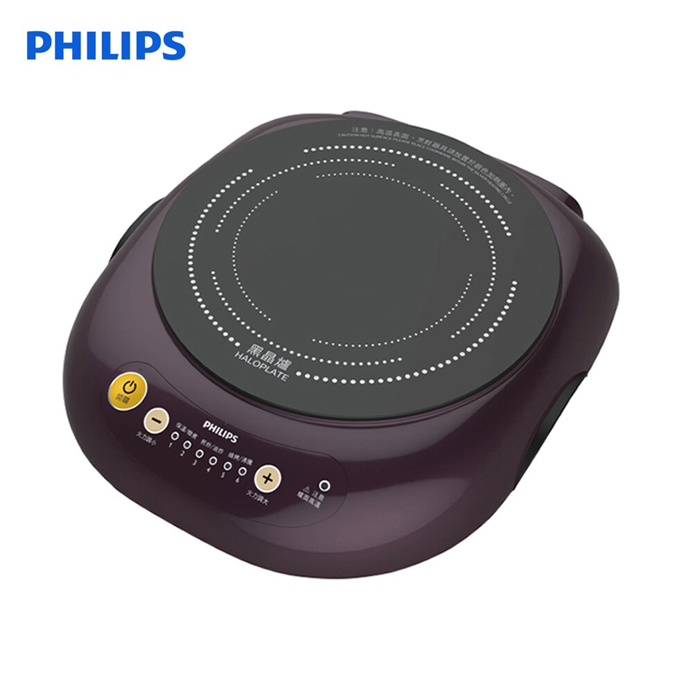 PHILIPS飛利浦 不挑鍋黑晶爐HD4998