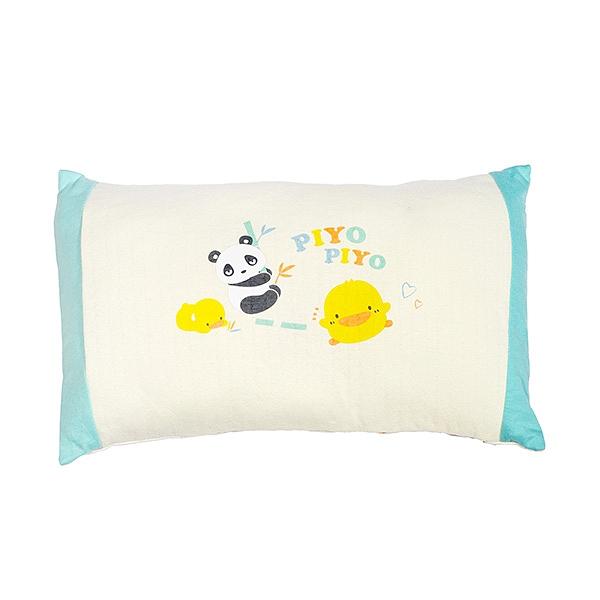 Piyo 黃色小鴨 有機棉長方形枕【佳兒園婦幼館】