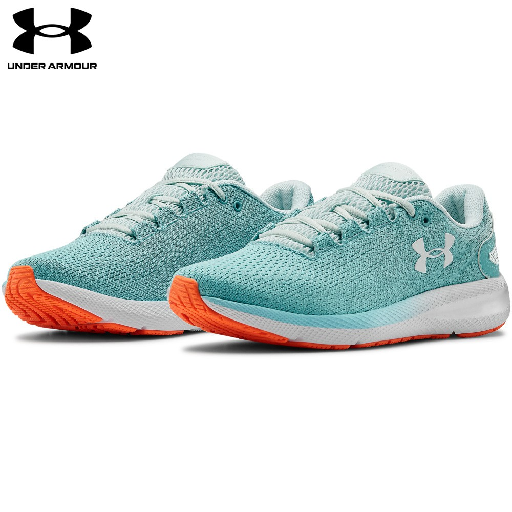 【UNDER ARMOUR】女 Charged Pursuit 2慢跑鞋(3022604-400,Regular)
