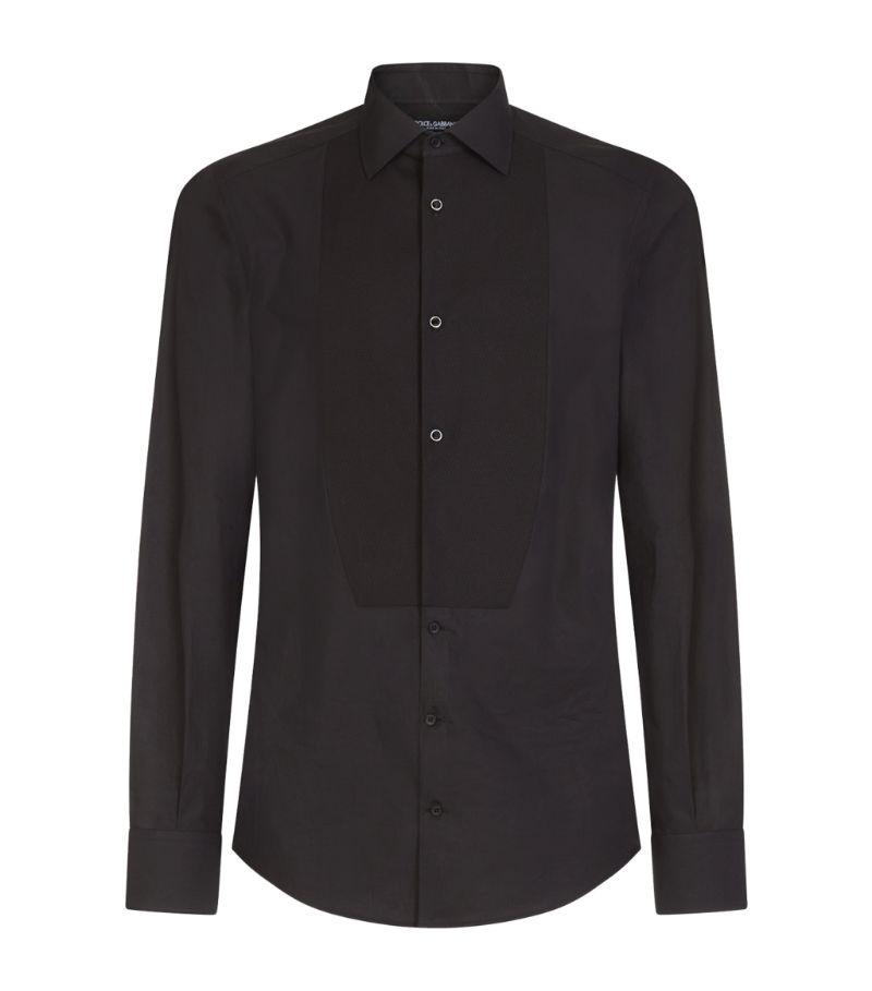 Dolce & Gabbana Tonal-Bib Shirt