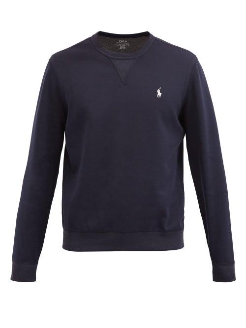 Polo Ralph Lauren - Logo-embroidered Sweatshirt - Mens - Navy