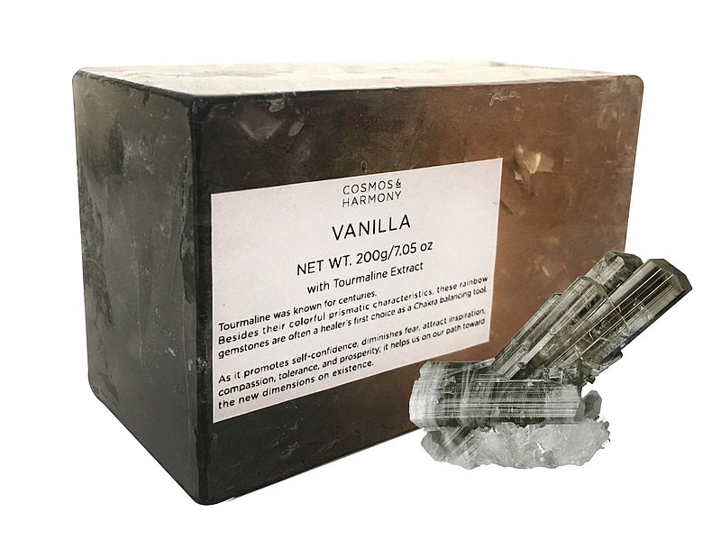 電氣石提取物香草香皂