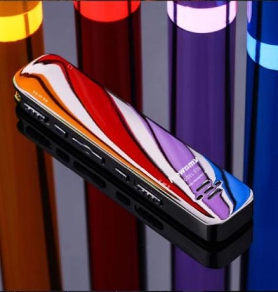 錄音筆 新款紐曼V19錄音筆專業高清降噪內錄語音轉文字學生 維多原創 DF