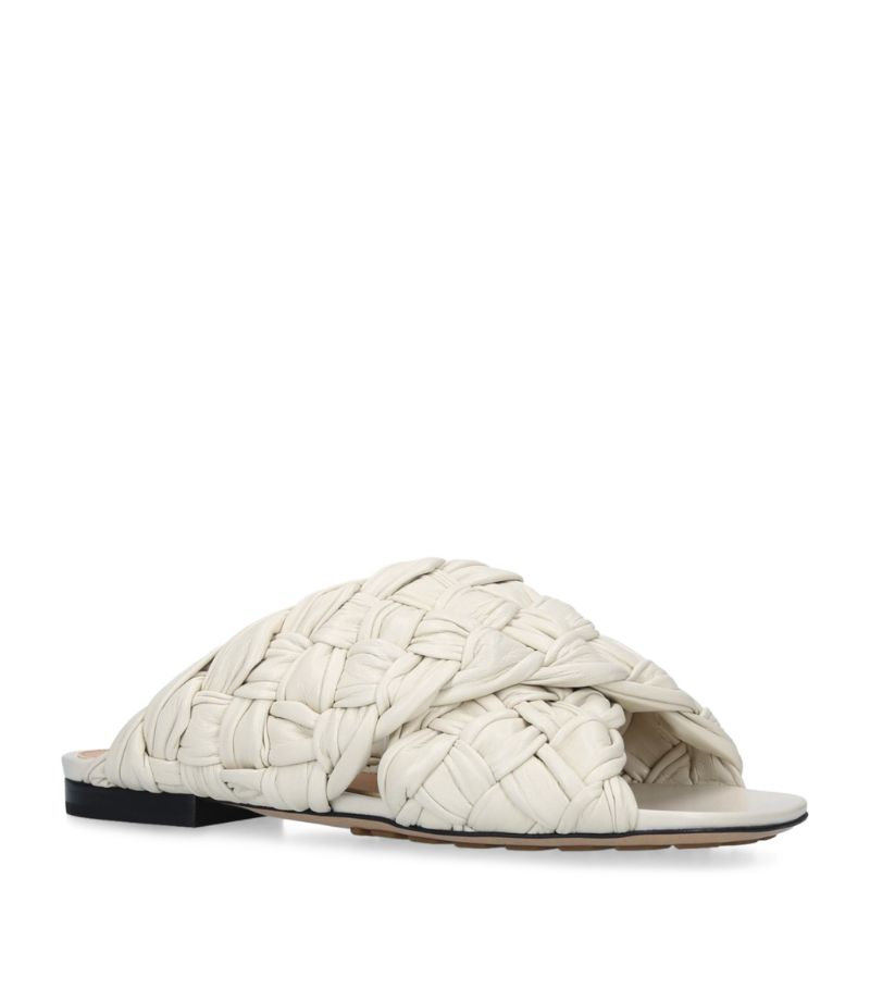 Bottega Veneta Leather Bv Board Slides