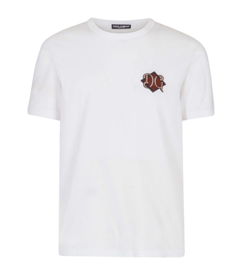 Dolce & Gabbana Monogram Patch T-Shirt