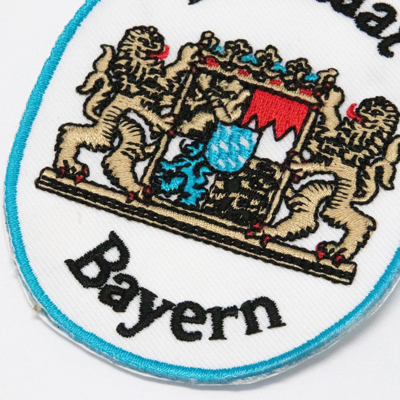 DIY裝飾燙布貼 三件組 巴伐利亞地標+德國國旗刺繡+金屬別針 徽章 帽子布鞋衣服貼 燙貼 臂章