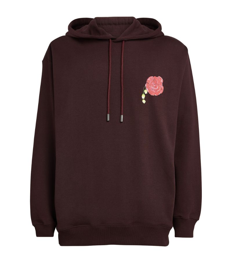 Opening Ceremony Flower Room Print Hoodie