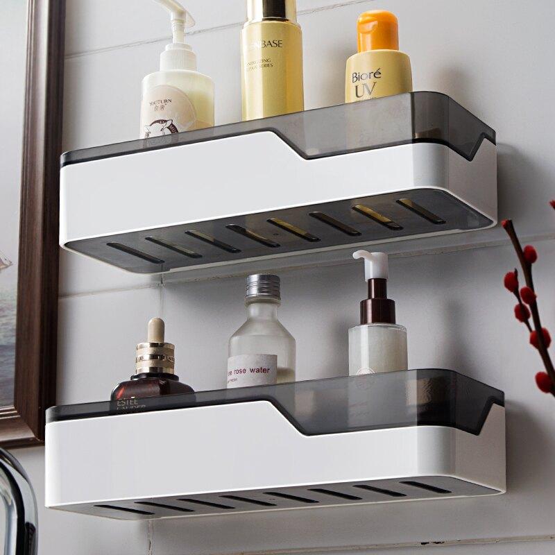 置物架浴室壁掛式免打孔用品大全收納 雙十一