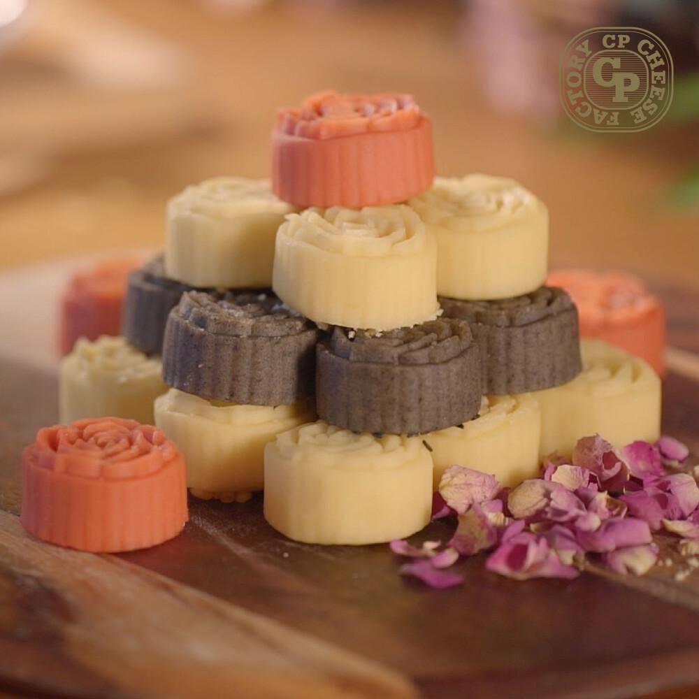 超品起司烘焙工坊糕點界的馬卡龍 航空公司御用 冰心花菓子(12入/盒)