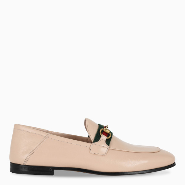 Gucci Nude Web Brixton loafers