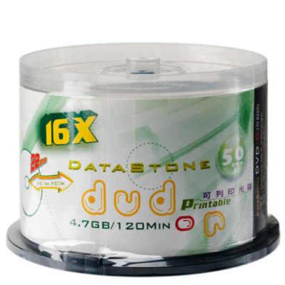 DataStone DVD-R 16X 亮面霧銀滿版可印 (50片)