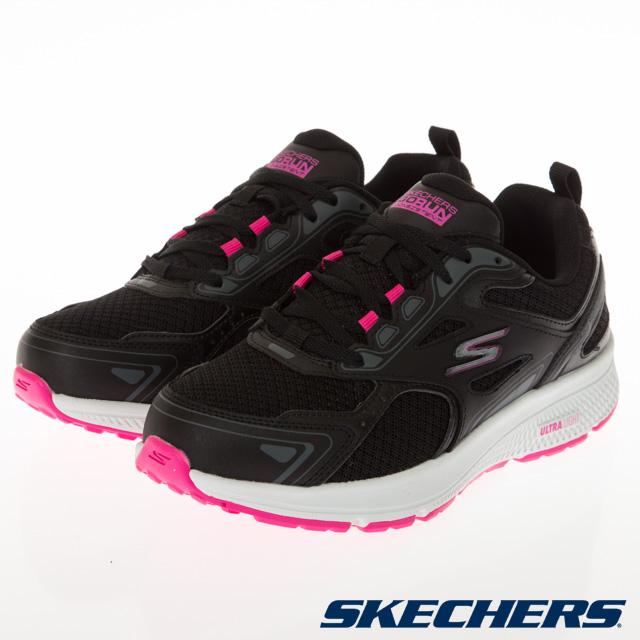 SKECHERS 女慢跑系列 GORUN CONSISTENT 寬楦款-128075WBKPK