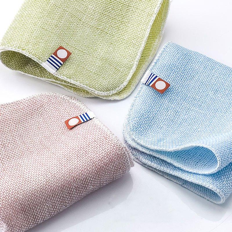 今治認證 五層紗方巾 一組三件