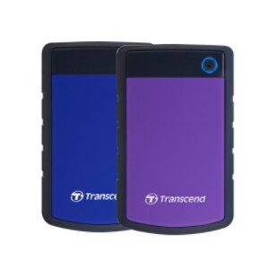 創見 2TB USB3.1 StoreJet 25H3 可攜式 外接 硬碟  軍規防震型 / 台