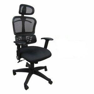 邏爵家具-A822時尚紳士網背辦公椅/電腦椅 DIY組裝