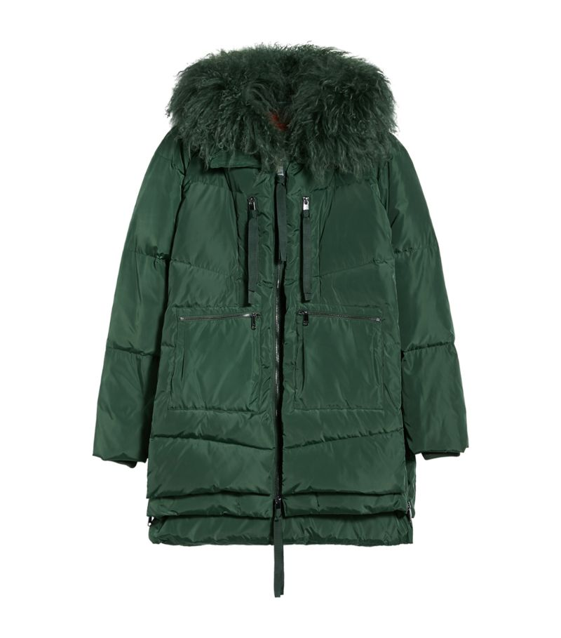 Max & Co Quilted Hooded Jacket
