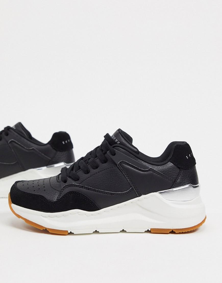 Skechers Rovina trainers in black