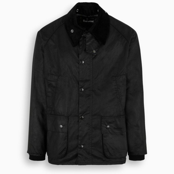 Barbour Black Bedale waxed jacket