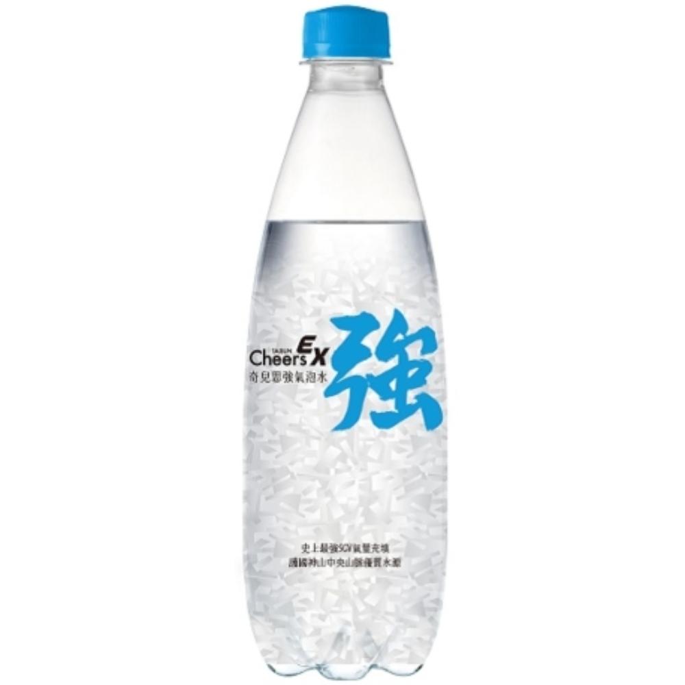 泰山 Cheers EX 強氣泡水 500ml*72入/共三箱 雙11優惠組合