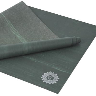 LOTUS 瑜珈墊 台灣製可折疊乾溼止滑天然橡膠旅行瑜珈墊1.5mm 島嶼森林