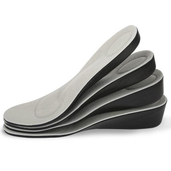 【JHS杰恆社】los0883之4.5cm運動增高鞋墊新款隱形內增高鞋墊透氣足弓男女