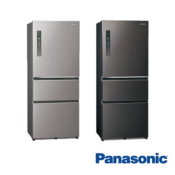 (夏日有禮賞)【Panasonic 國際牌】500公升 三門 電冰箱 NR-C501XV((買就送厚釜深炒鍋