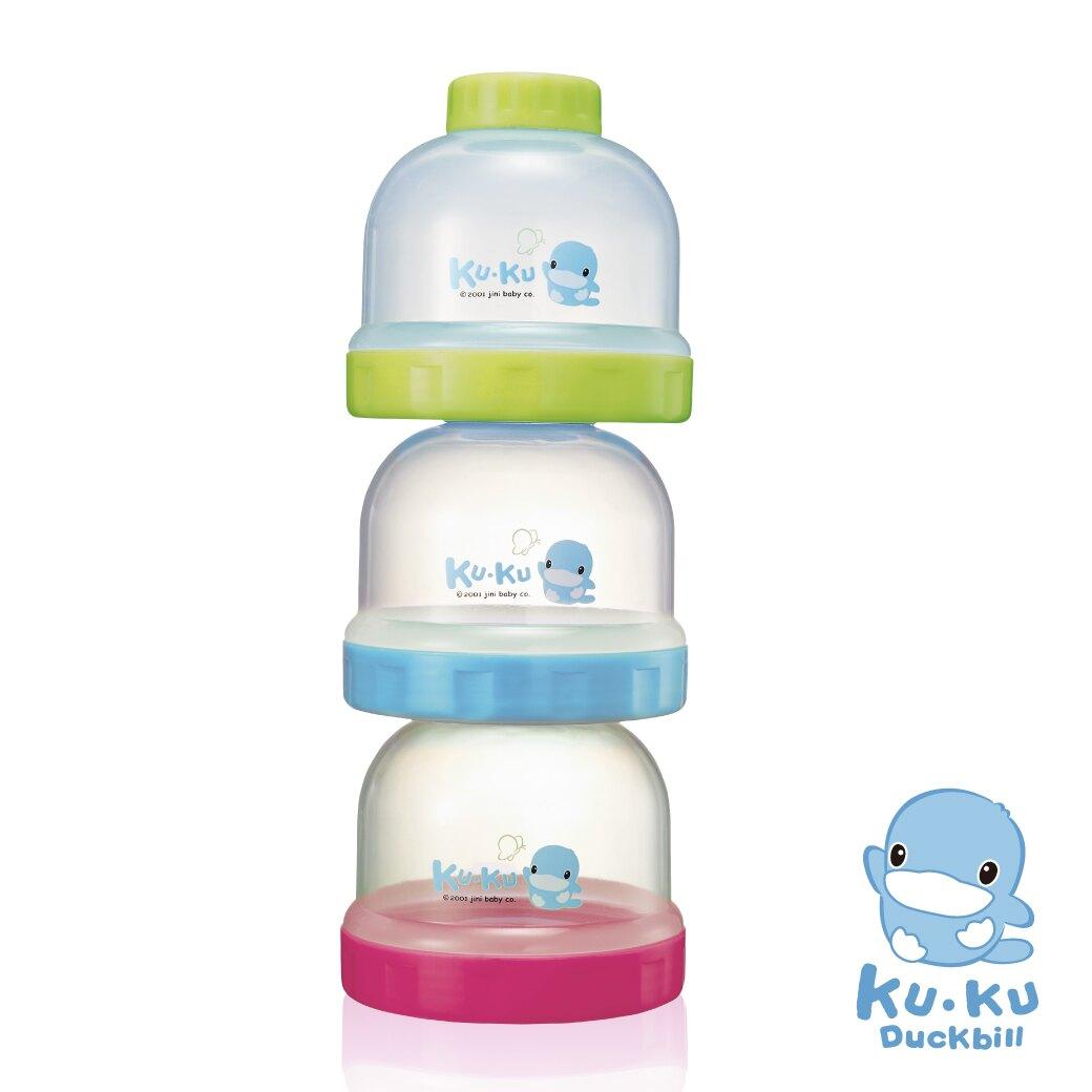 品牌系列滿1299加贈安撫巾,酷咕鴨 KUKU 疊疊樂食物奶粉罐【淘氣寶寶】