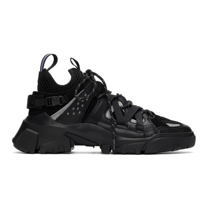 MCQ 黑色 Descender 运动鞋