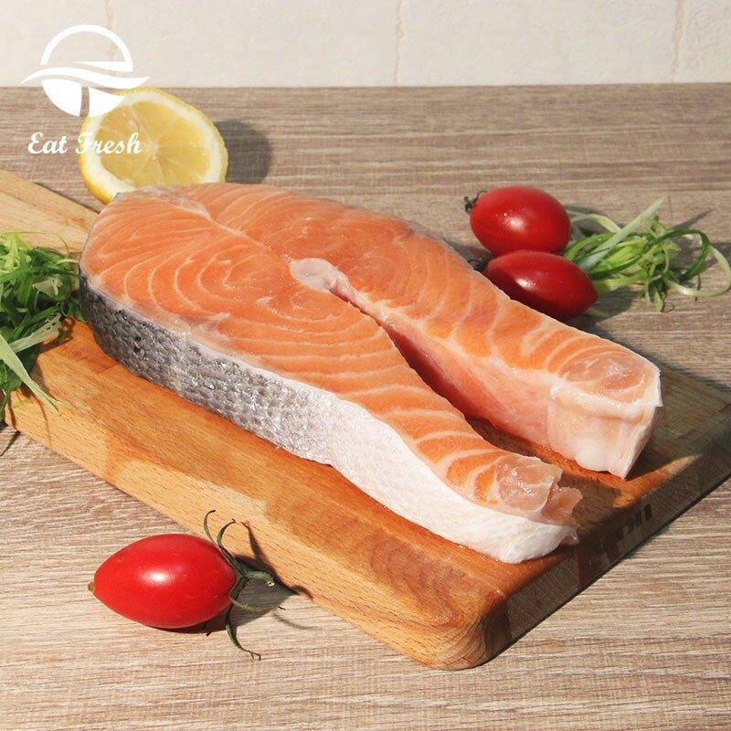 【易特生鮮】挪威空運鮭魚輪切(255g~300g/片)➤生食等級,冰鮮空運來台