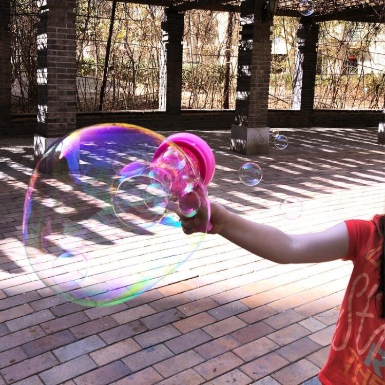泡泡機 電動泡泡機吹出巨大泡泡嵌套吹泡泡玩具兒童夏天玩具泡泡槍幼兒園 新年特惠