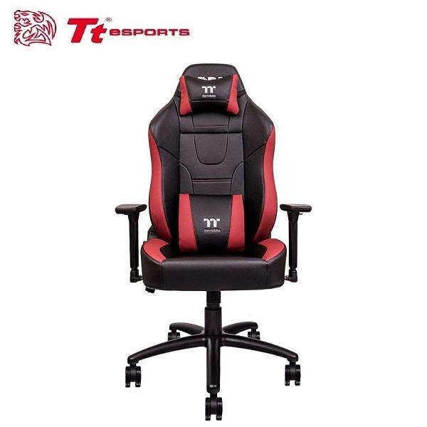 【Tt eSPORTS 曜越】U Comfort 黑紅 電競椅 (GGC-UCO-BRLWDS-01) [富廉網]