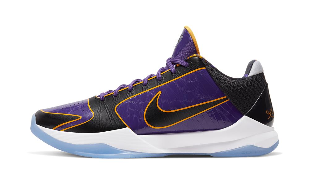 Nike Kobe 5 Protro '5x Champ / Lakers' Shoes - Size 4