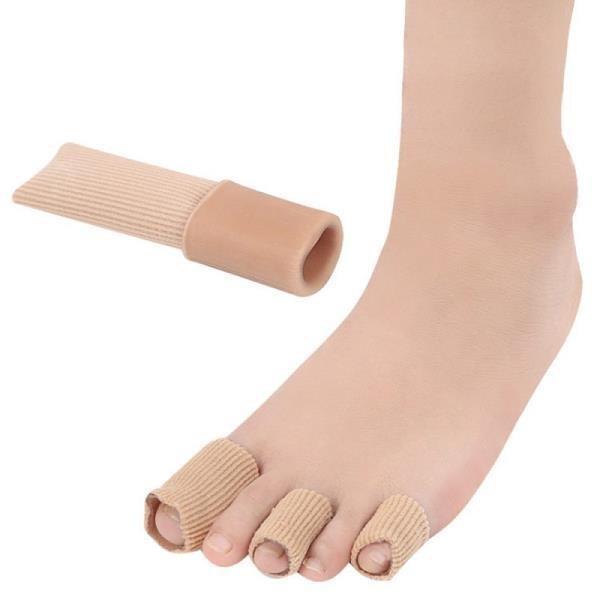 【JHS杰恆社】los0354跨境纖維凝膠趾套腳趾手指保護套雞眼套防磨高跟鞋擠