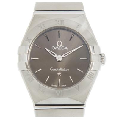OMEGA 歐米茄 星座系列石英女錶(131.10.25.60.06.001) x灰面x25mm