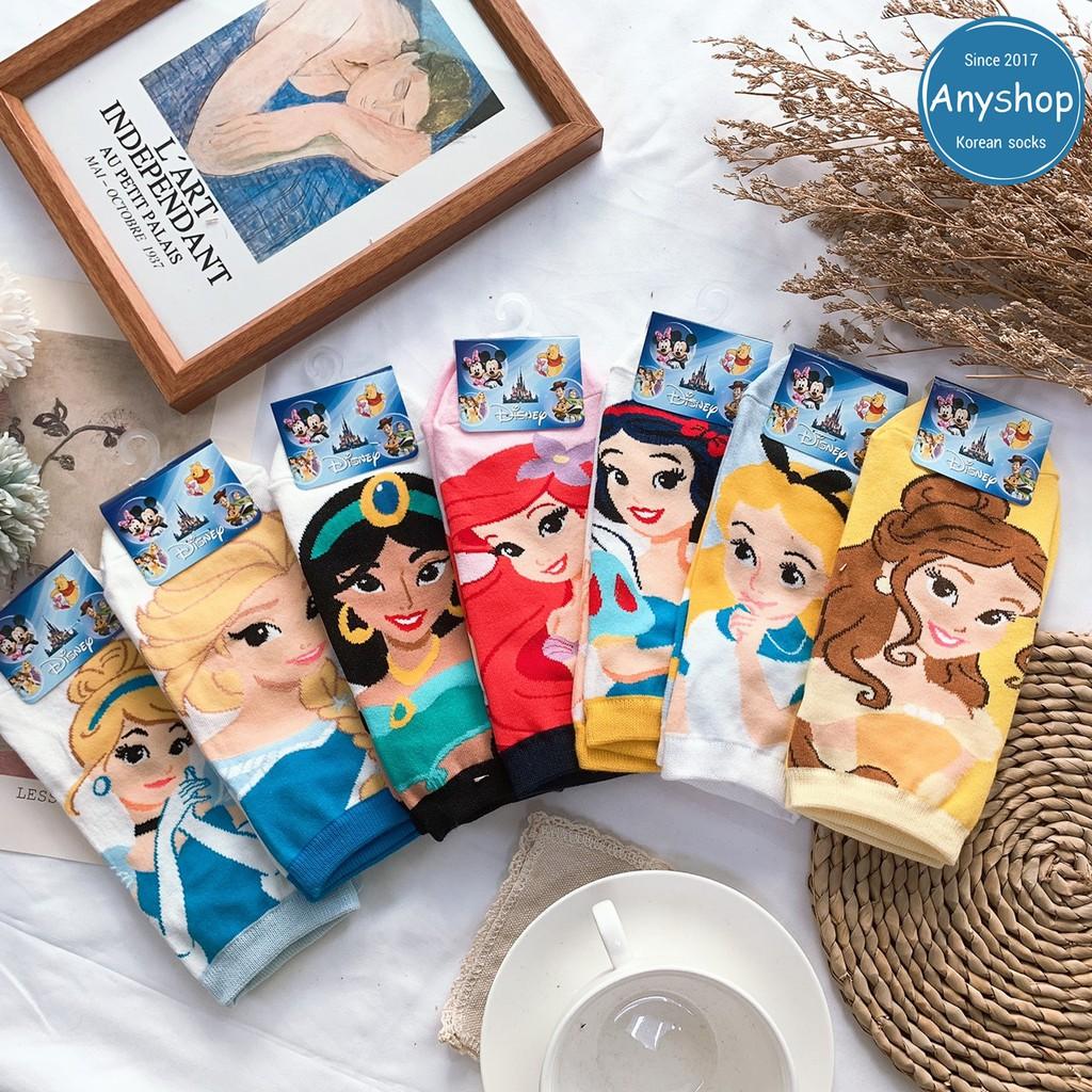 韓國襪-[Anyshop]迪士尼公主系列兒童襪