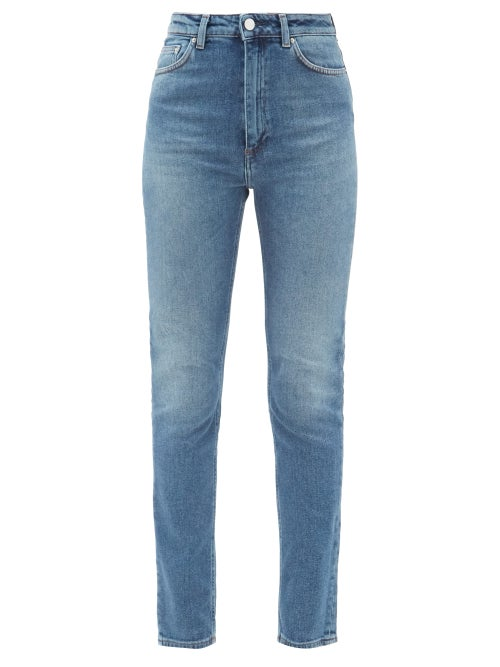 Totême - New Standard High-rise Skinny-leg Jeans - Womens - Denim