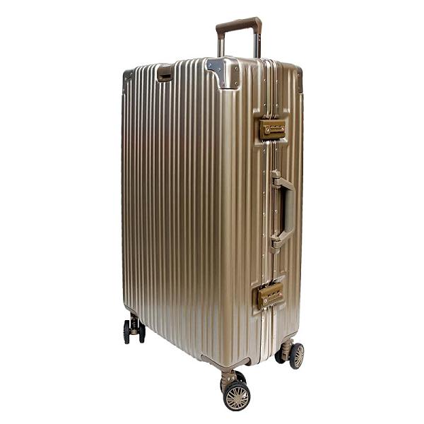 【YC Eason】古典19吋鋁框避震行李箱(鈦金)
