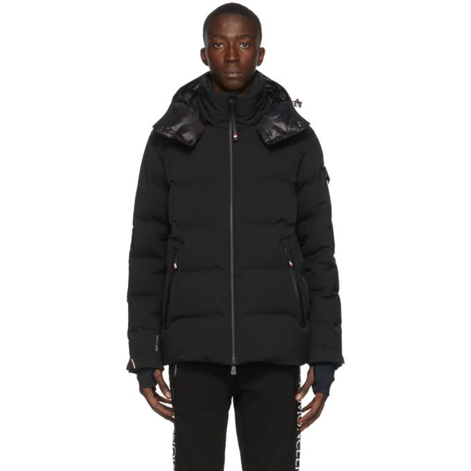 Moncler Grenoble 黑色 Montgetech 羽绒夹克
