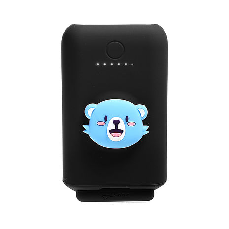 BONE - 熊寶 立架行動電源 10050mAh黑色