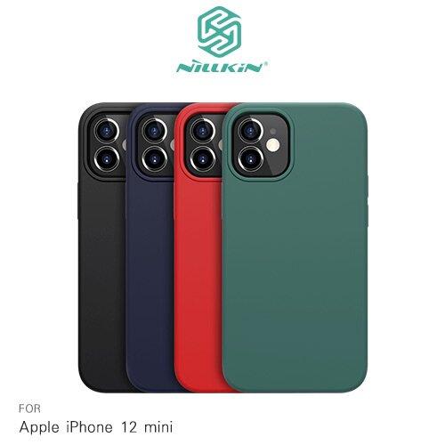 NILLKIN Apple iPhone 12 mini 5.4吋 感系列液態矽膠殼