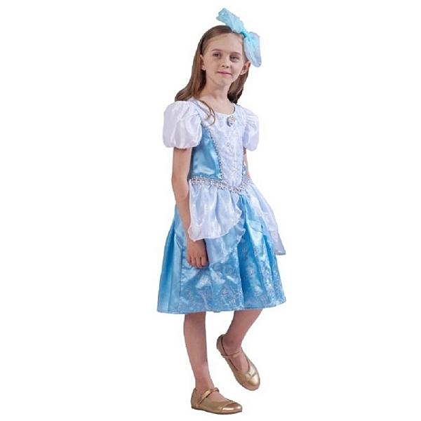 【萬聖節首選】迪士尼裝扮組 灰姑娘 仙杜瑞拉 經典連身公主裝 (不含髮箍) 【鯊玩具Toy Shark】