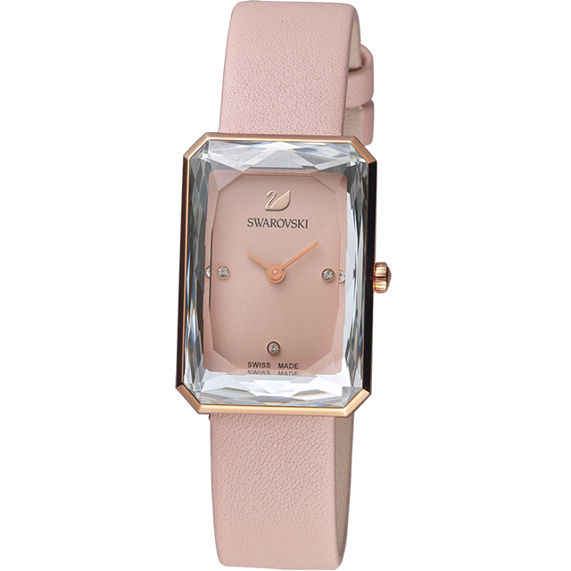 SWAROVSKI施華洛世奇 UPTOWN 璀璨流星時尚腕錶(5547719)