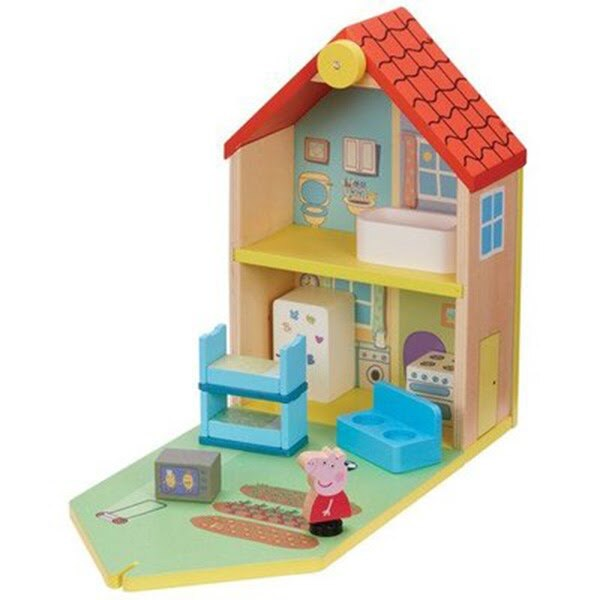 【Peppa Pig 粉紅豬小妹】木製 豪華房屋組