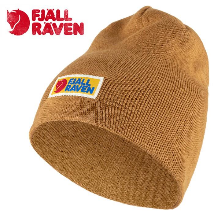 【Fjallraven小狐狸 瑞典】Vardag 保暖帽 毛帽 針織帽 橡子色 (78147-166)