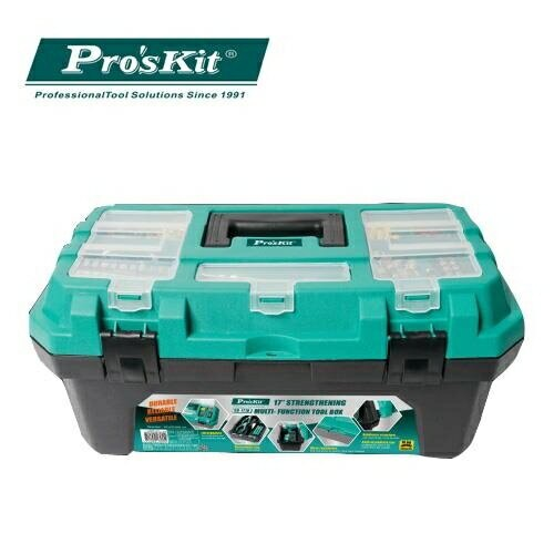Pro'sKit 寶工 SB-1918 加强型多功能雙層工具箱