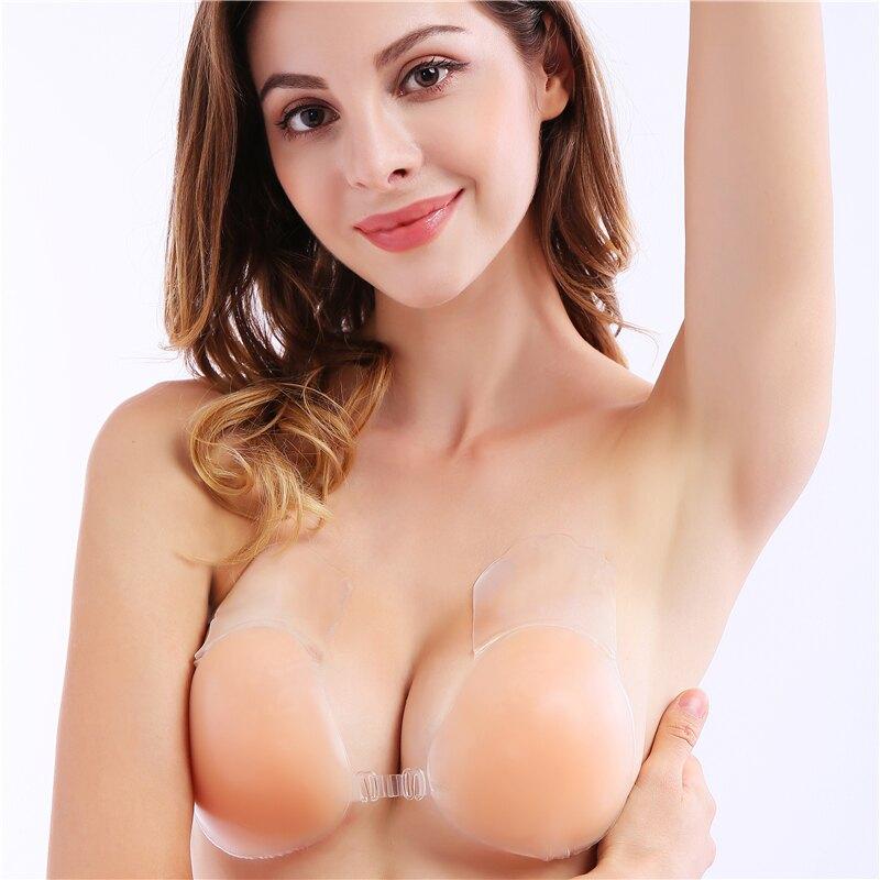 日本胸貼薄聚攏上托提拉大胸防下垂小胸婚紗 貼身衣物不可退換貨