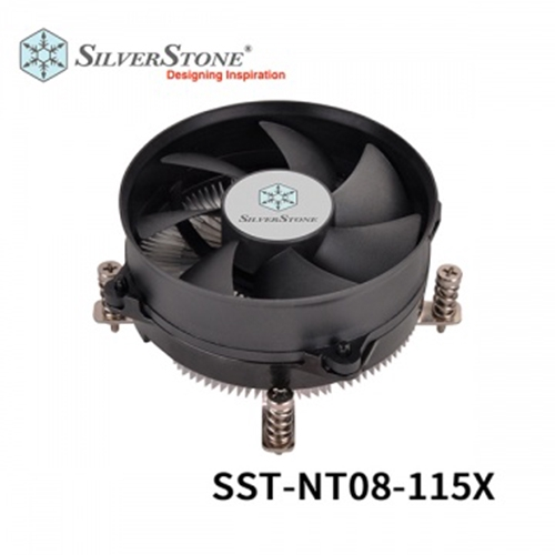 SilverStone 銀欣 SST-NT08-115X CPU散熱器 Intel專用 支援最新LGA 1200腳位
