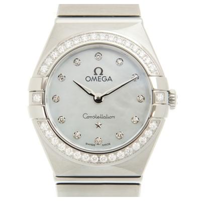 OMEGA 歐米茄星座系列珍珠貝母石英女腕錶(131.15.25.60.55.001) x25mm